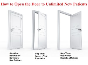 How to Open the Door to Unlimited New Patients